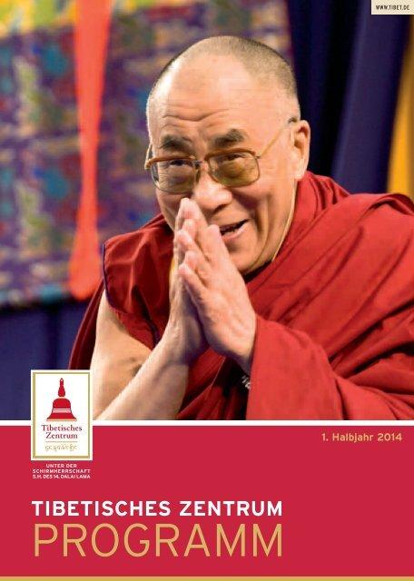 Unser Programm - Tibetisches Zentrum eV