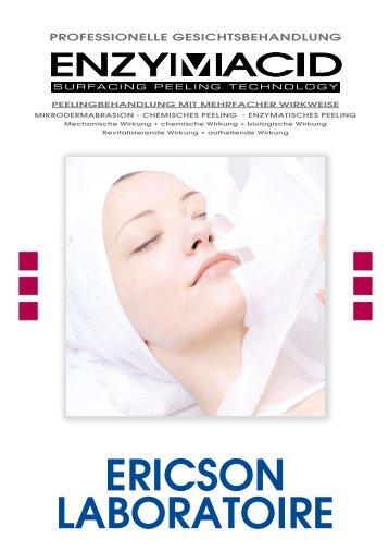 Behandlungsprotokoll ENZYMACID - Ericson Laboratoire