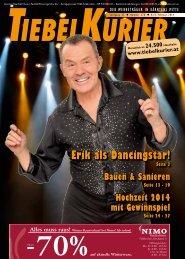Erik als Dancingstar! - Tiebelkurier