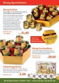 Weihnachts spezialitäten - Honig Reinmuth - Seite 7