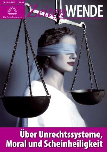 ZeitenWENDE Nr..32 - Mensch Umwelt Tierschutz - Landesverband ...
