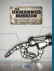 UNMANNED MISSION - Association for Unmanned Vehicle Systems ...
