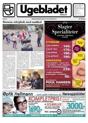 Slagter Specialiteter - Ugebladet for Tinglev