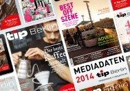 Mediadaten 2014 - Tip Berlin