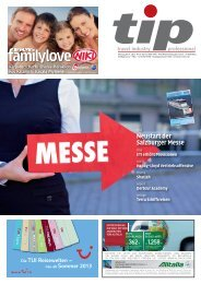 Neustart der Salzburger Messe - tip - Travel Industry Professional