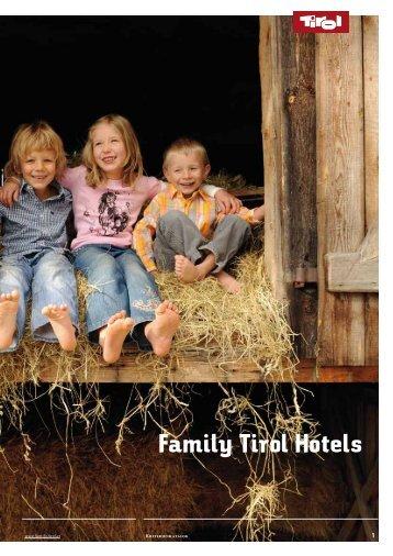 Qualitätskriterien der Family Tirol Hotels