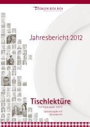 Jahresbericht 2012 (PDF) - Tischlein Deck dich