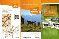 Sommer.Aktiv.erleben 2013 - Tiroler Oberland