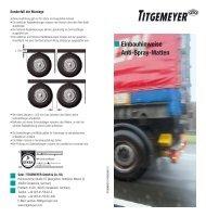 Tf1606D(0611)1 Einbauhinweise Anti-Spray-Matten ... - Titgemeyer