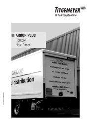 ARBOR PLUS Rolltore Holz-Paneel - Titgemeyer