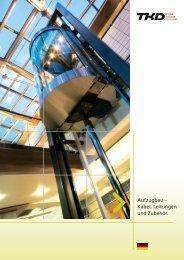 aufzugbau – Kabel, leitungen und zubehör. - TKD KABEL GmbH
