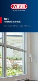 ABUS Fenstersicherheit - TKM Fenster