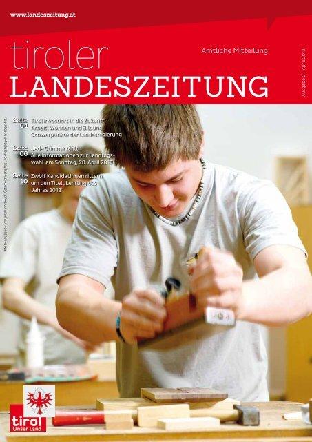 Landeszeitung A - Die Tiroler Landeszeitung