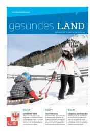 Beilage der Tiroler Landeszeitung - Die Tiroler Landeszeitung