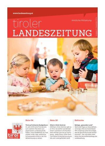 mIndeStSIcHerung - Die Tiroler Landeszeitung