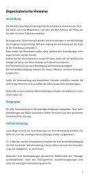 Organisatorische Hinweise - Thüringer Landesanstalt für Umwelt ...
