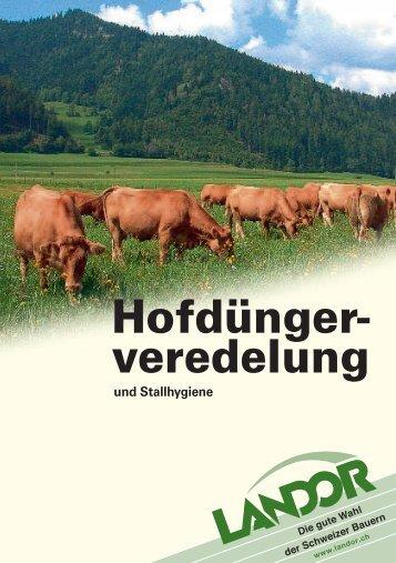 Hofdüngerveredelung - Landor.ch
