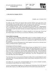 Elternbrief zum Schuljahres- beginn 2013 - Staatliche Realschule ...