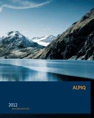 Geschäftsbericht 2012 PDF (4.3 MB) - Alpiq