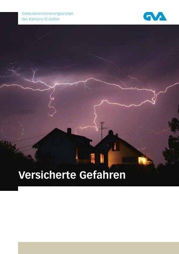 Versicherte Gefahren - Gebäudeversicherungsanstalt des Kantons ...