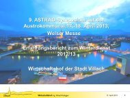 Ing. Alfred Wolligger, Stadt Villach