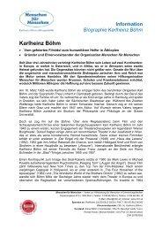 Der Gründer - Lebenslauf von Karlheinz Böhm - Menschen für ...