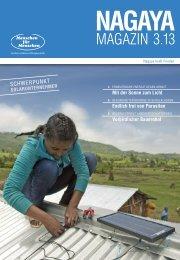 Nagaya Magazin 3/2013 als PDF downloaden - Menschen für ...