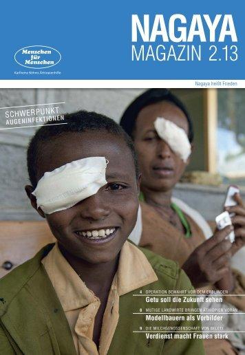 Nagaya Magazin 2/2013 als PDF downloaden - Menschen für ...