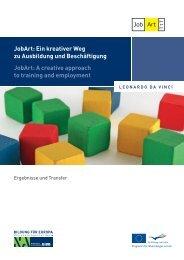 JobArt: Ein kreativer Weg zu Ausbildung und ... - NA-BIBB