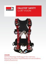 FALLSTOP® SAFETY GURT VISION - Bornack