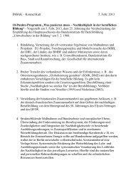 "INBAK – Konrad Kutt 5. Febr. 2013 10-Punkte-Programm ""Was ..."