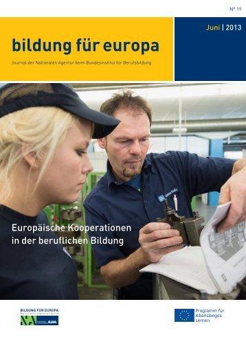 """""""bildung für europa"""" als PDF herunterladen - NA beim BIBB"""