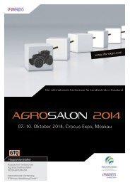 07.-10. Oktober 2014, Crocus Expo, Moskau - German Export ...