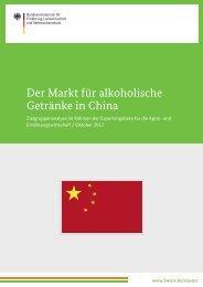 Der Markt für alkoholische Getränke in China - German Export ...