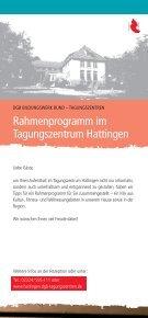 Rahmenprogramm im Tagungszentrum Hattingen - DGB ... - Seite 2