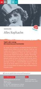 Rahmenprogramm im Tagungszentrum Hattingen - DGB ... - Seite 7