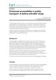Enhanced accessibility in public transport: A before-and-after study