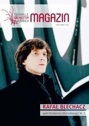 RAFAě BLECHACZ - Tonhalle-Orchester Zürich