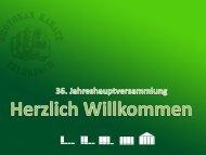 Präsentation - Shotokan Karate Feldkirch