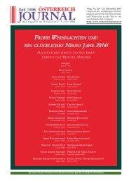 frohe weihnachten und ein glückliches neues jahr 2014! - Österreich ...