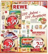 NUR MONTAG! - REWE Beckum