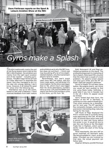 Gyros make a Splash - tonywilk