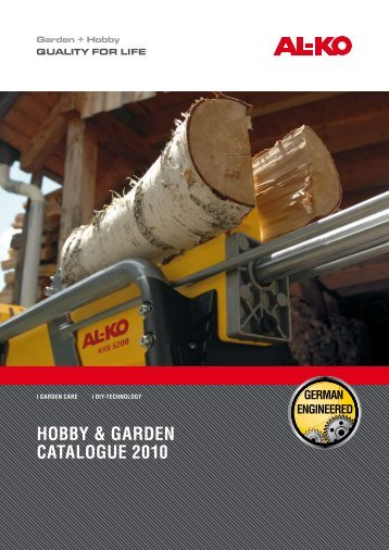 Hobby & Garden CataloGue 2010 - ToolsZone.ro