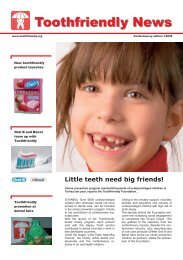 Confectionery Edition 1/2006 - Toothfriendly International