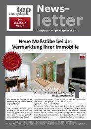 Newsletter September 2013 - top-conception