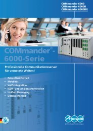 COMmander® 6000... - Auerswald Marketing