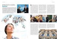 Erfolg durch ein starkes Netzwerk - TOP Magazin