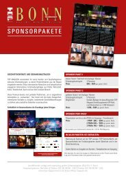 SPONSORPAKETE - top magazin