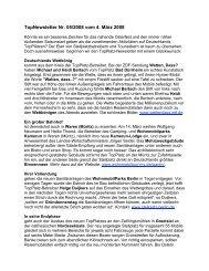 TopNewsletter Nr. 05/2008 vom 4. März 2008 - Top-Platz