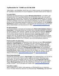 TopNewsletter Nr. 11/2008 vom 28. Mai 2008 - Top-Platz